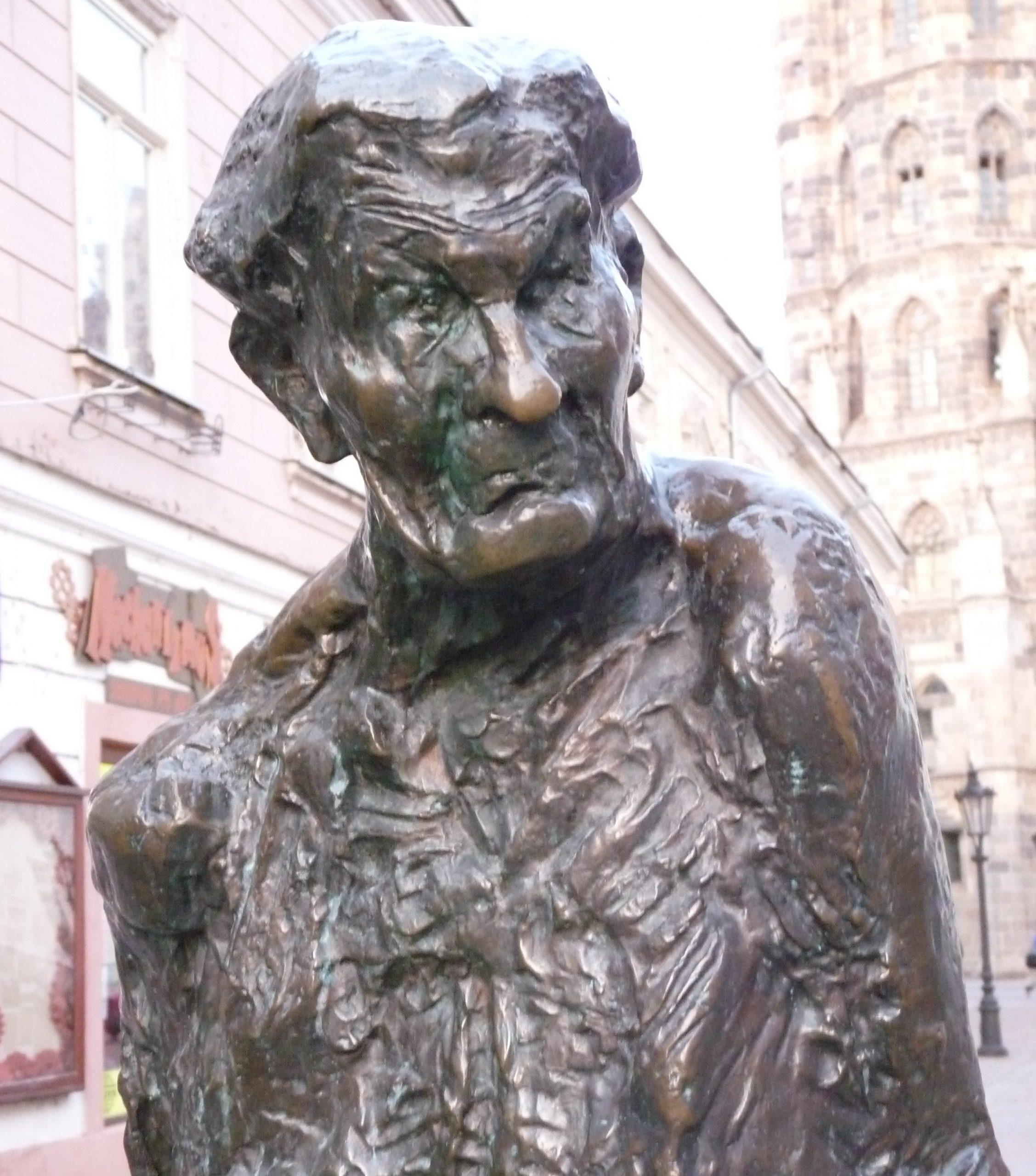 Jakoby Gyula szobra
