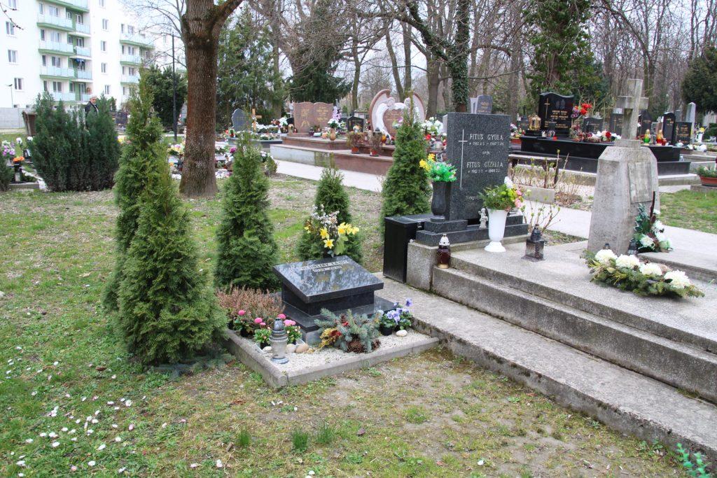 Presinszky Lajos sírja